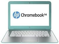 NEW IN BOX HP GOOGLE CHROMEBOOK 14 INCH OCEAN TURQUOISE