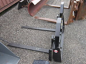 SKID STEER FORKS - ALL SIZES AVAILABLE - CANADIAN BUILT