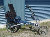 Bike E Recumbent Bicycle