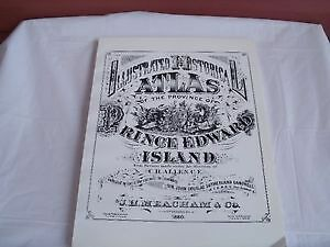 Illustrated Historical Atlas of Province of PEI--1880
