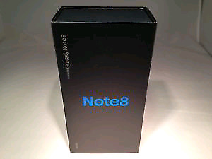 Samsung Galaxy Note 8 64gb BNIB (black)