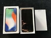 iPhone X - 64GB Unlocked - Unwanted gift - pick up only - boxed