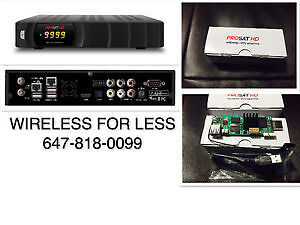 PROSAT HD FTA Free Receiver With Android Kit