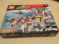 Lego super Heroes Spiderman Web Ultimate Bridge -76057 BNIB RRP £89.99