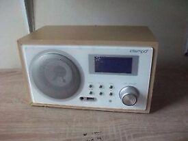 Intempo internet radio (with power lead)