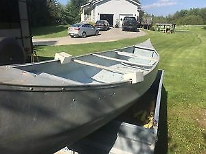 12',14' and 16' Aluminum Springbok Canoes For sale