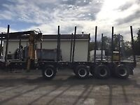 Looking for Quad Axle Self Loading Log truck