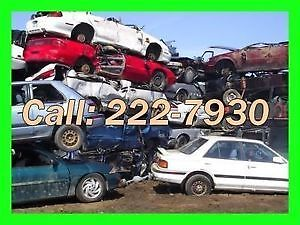 WANTED UNWANTED VEHICLES $$ TOP CASH $$$$ (204) 222-7930