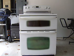 Maytag Electric Smoothtop Double Oven Range