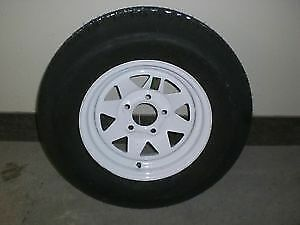 "ST 175/80 R13 - 13"" TRAILER TIRES on RIMS $89.00 - CLENTEC"
