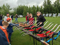 Learn Archery & Fishing for Free This Weekend