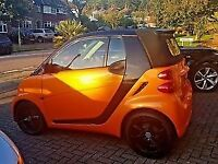 Smart for two, night orange ltd edition.