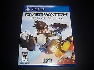 Overwatch for PS4, in great condition.