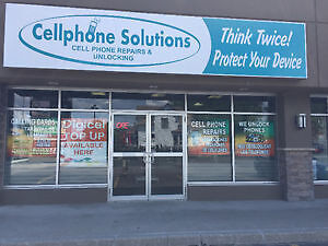 CELLPHONE SOLUTIONS. CELLPHONE CASES, PROTECTOR, REPAIRS, UNLOCK