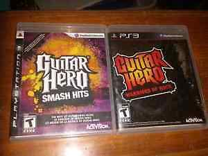 2 Guitar Hero Games (PS3)