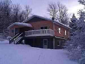 Ski cottage 5 min to Owl's Head, close to Jay Peak