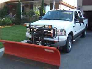 2005 FORD F-250 XLT 4X4 PICKUP TRUCK WITH SNOW PLOW