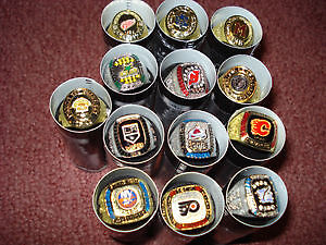Various Molson Stanley Cup Rings
