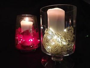 Wire LED string fairy light centerpiece vase submersible wedding Kitchener / Waterloo Kitchener Area image 2