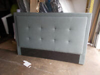 Brand New king size fabric headboard for sale