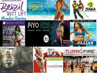 21Day Fix-Piyo-Brazilian Butt Lift-Turbofire-Zumba Fitness-P90X3