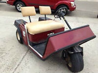 Older golf cart for sale or trade *make an offer*