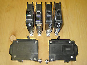 15 Amp QBH breakers for Sylvania, Commander, CEB panel