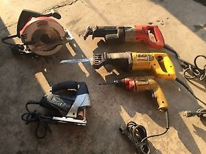 !!! USED POWER TOOLS - PERFECT WORKING COND. !!!