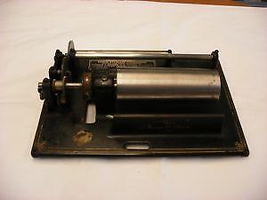 Edison Standard Cylinder Phonographs