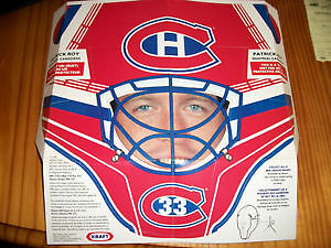 1994-95 Kraft Goalie Masks including Patrick Roy