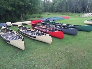 Sportspal Canoes- Transom, Pointed, and Squareback in Stock!
