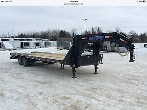 2012 Load Trail 8.5x30 12 Ton Low Pro Deckover Gooseneck Trailer