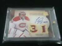 Carey Price The cup auto patch card 26/31