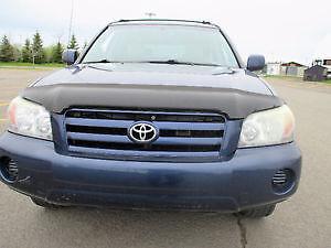 2004 Toyota Highlander AWD V6 SUV, Crossover,Inspected.