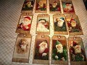 Primitive Christmas Tags