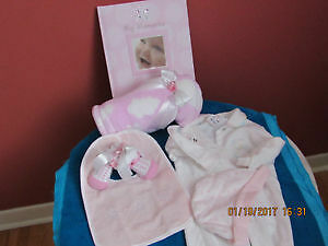 Newborn baby girl set