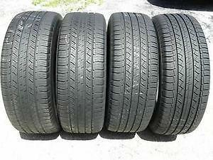 255/55R18 set of 4 Michelin Used (inst. bal.incl) 70% tread left