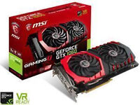 brand new MSI NVIDIA GeForce GTX 1060 GAMING X 3 GB
