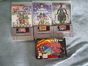 Lot de jeux ps1 ps2 ps3 super nintendo