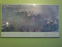 Monet Water Lilies Framed Print Large! Gallery Framed.