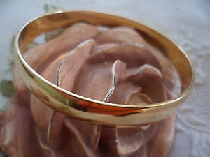 Monet Gold toned Bangle Bracelet and brooch
