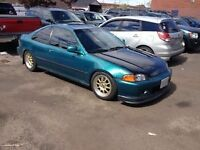 1995 Honda Civic si clean rolling shell with mods