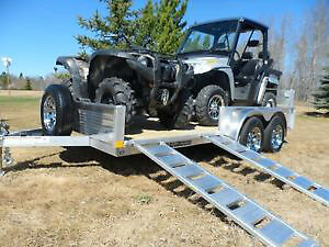 """CHECK THIS OUT! NEW 2017 82"""" x 16' & 18' Tandem Trailer"""