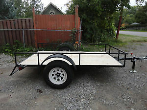 5x8 utility trailer / 3500 LBS axle/ never used