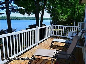 Weekly Fall Cottage Rental on Golden Lake