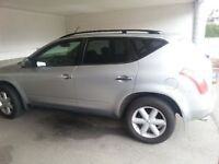 2004 Nissan Murano SUV, Crossover for harley