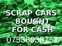 ♻ wanted cars 4x4 vans, non runners no mot we buy them all ♻
