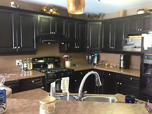KITCHEN CABINET REFINISHING 1/4 COST OF BUYING NEW