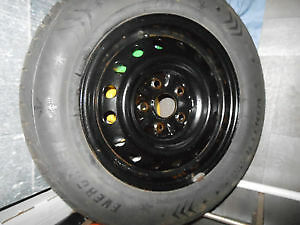 winter tires on rims from camry 2006 size 205 65 15 Cambridge Kitchener Area image 1