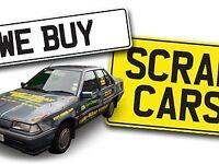 SCRAP CARS VANS CARAVANS BIKES 4x4 WANTED TOP CASH PAID SCRAP MY CAR SELL MY CAR CASH FOR CARS